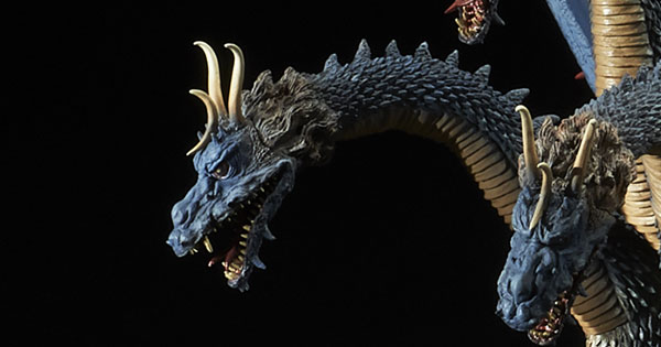 Luminous Reviews the X-Plus King Ghidorah 1964 Original Colors Ric