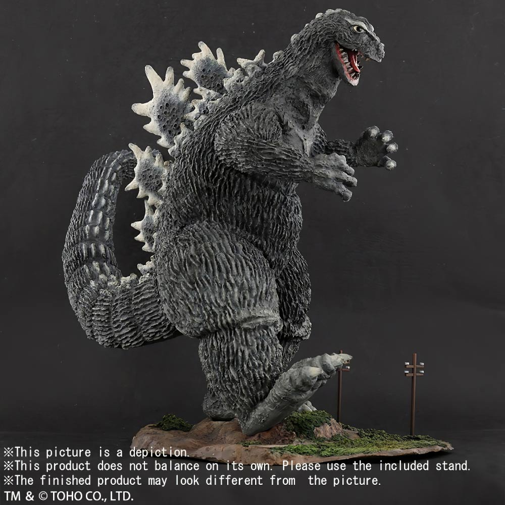 X-Plus 30cm Series FSL Godzilla 1962 Walking Pose vinyl figure.