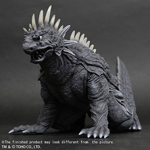 X-Plus Large Monster Series Crawling Varan 1958 Monochrome version.