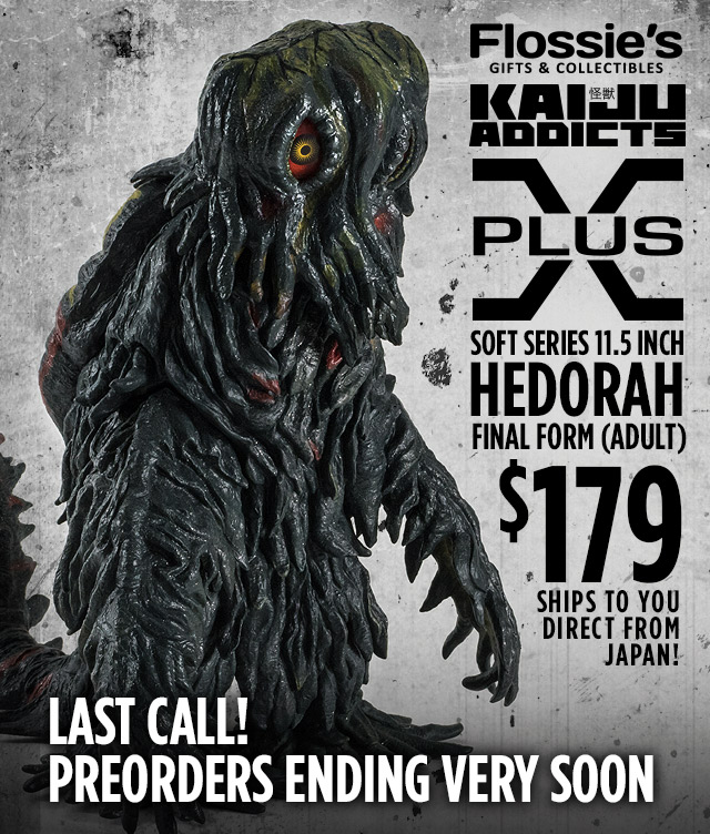 X-Plus Soft Series Hedorah Adult at Flossie's Gifts & Collectibles.