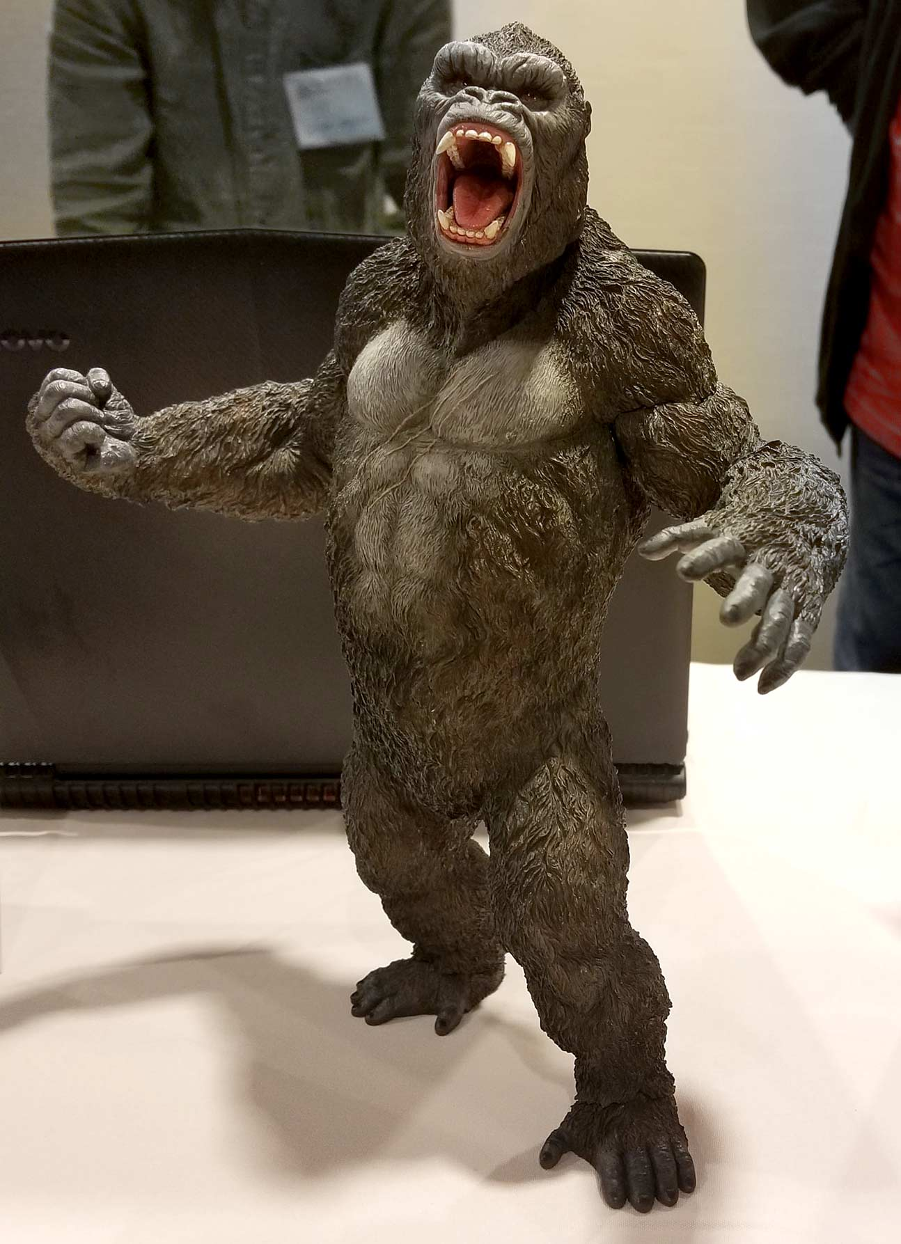 The recently announced Star Ace Kong: Skull Island Fighting Version vinyl figure on display at G-Fest.