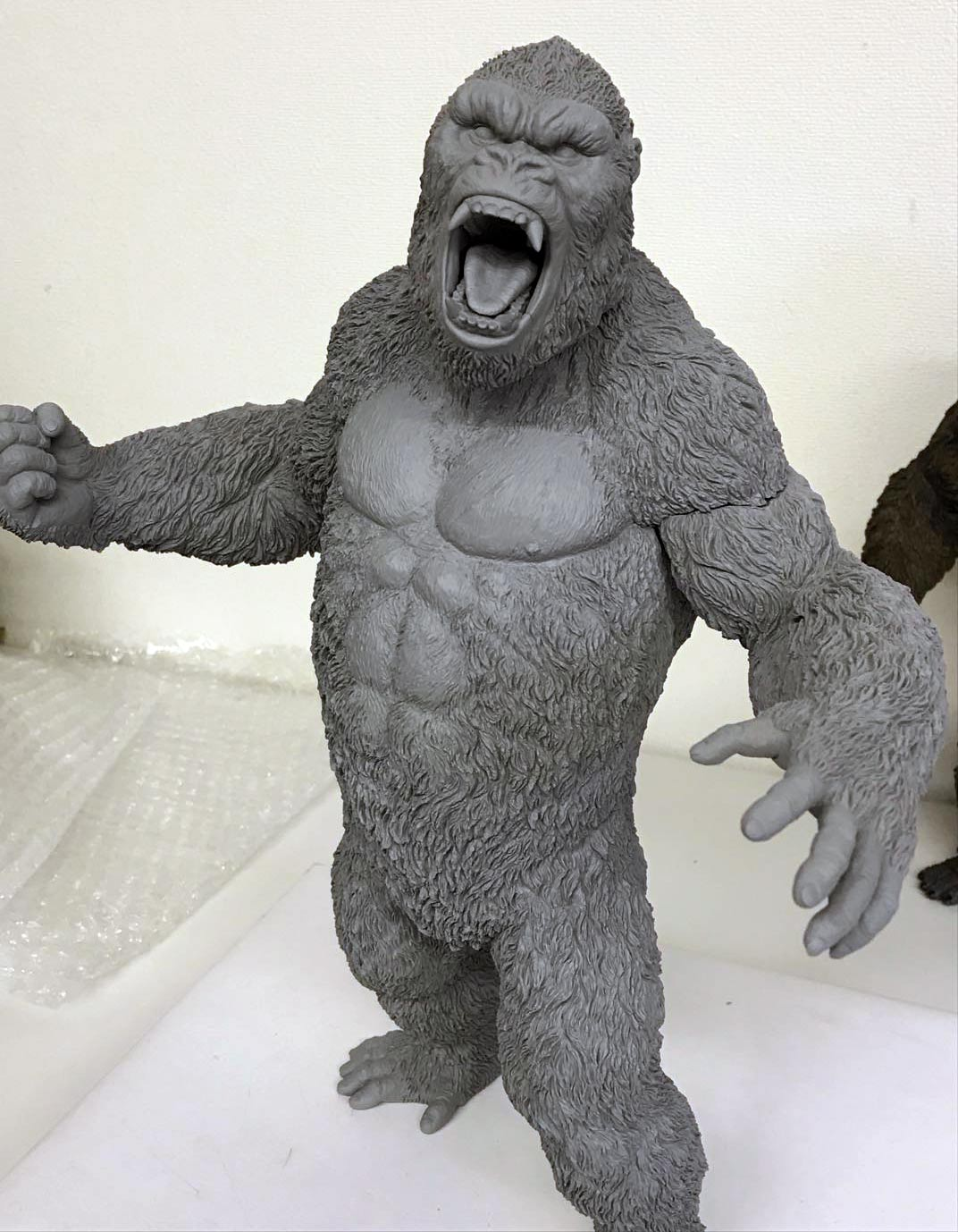 The Star Ace Kong V2 prototype ready for paint.