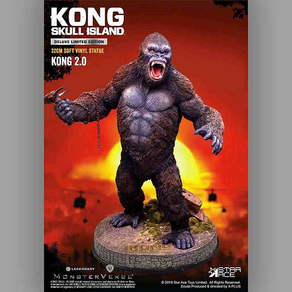 Star Ace / X-Plus Kong 2.0 Deluxe Version available at Flossie's.