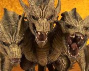 Deforeal Series King Ghidorah 2019 vinyl figure by X-Plus.