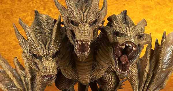 GKOTM Deforeal King Ghidorah up for Preorder