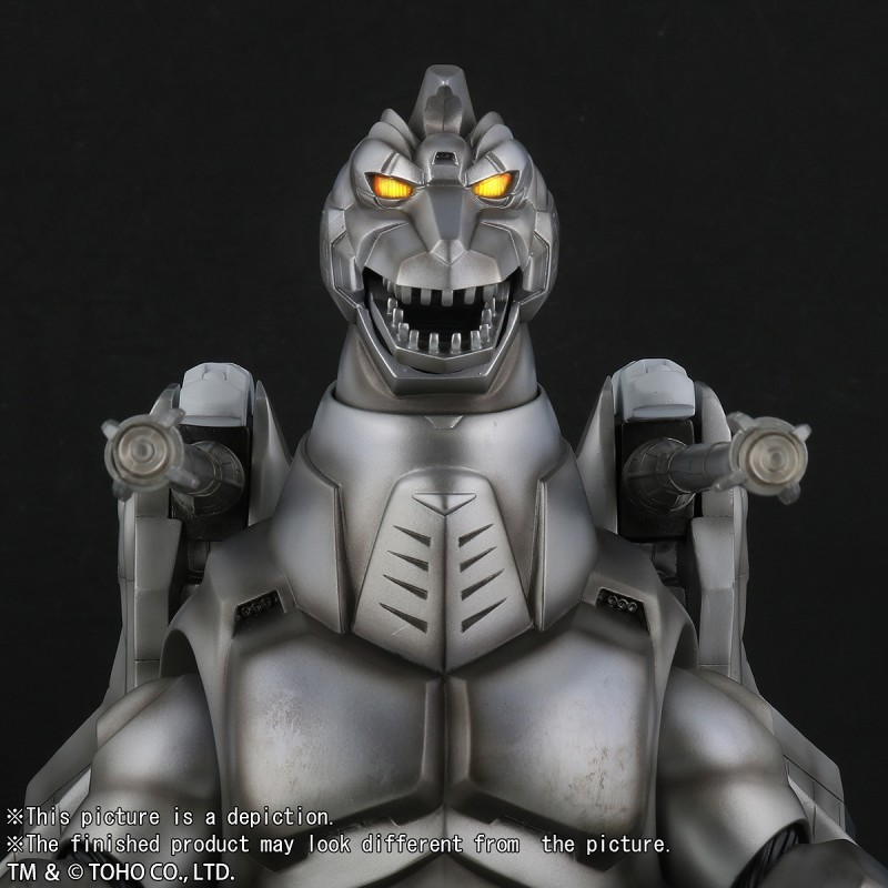 30cm Series Super Mechagodzilla (1993) 'Fighting Color Ver.' vinyl figure by X-Plus.