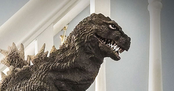 The X-Plus Favorite Sculptors Line Godzilla 1962 vinyl figure.