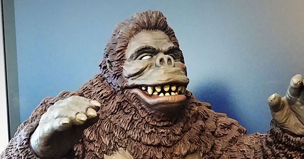 X-Plus of the Day 11/24/19 – RotoKaiju 'King Kong 1962'