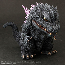 X-Plus Deforeal Godzilla 1999 Standard Version vinyl figure.