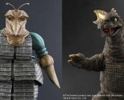 Releasing Soon: X-Plus 30cm Mogera 1957 and 25cm Baragon 1965.