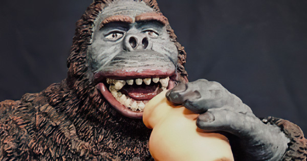 "Preorders open for RotoKaiju 'Drunken Kong"" 2.5 Kit"