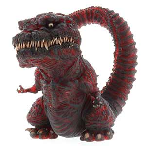 Deforeal Shin Godzilla Clear Version vinyl figure by X-Plus.
